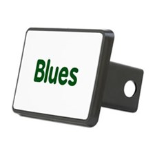 Blues word green music design Hitch Cover