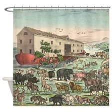 Noah's Ark Shower Curtain