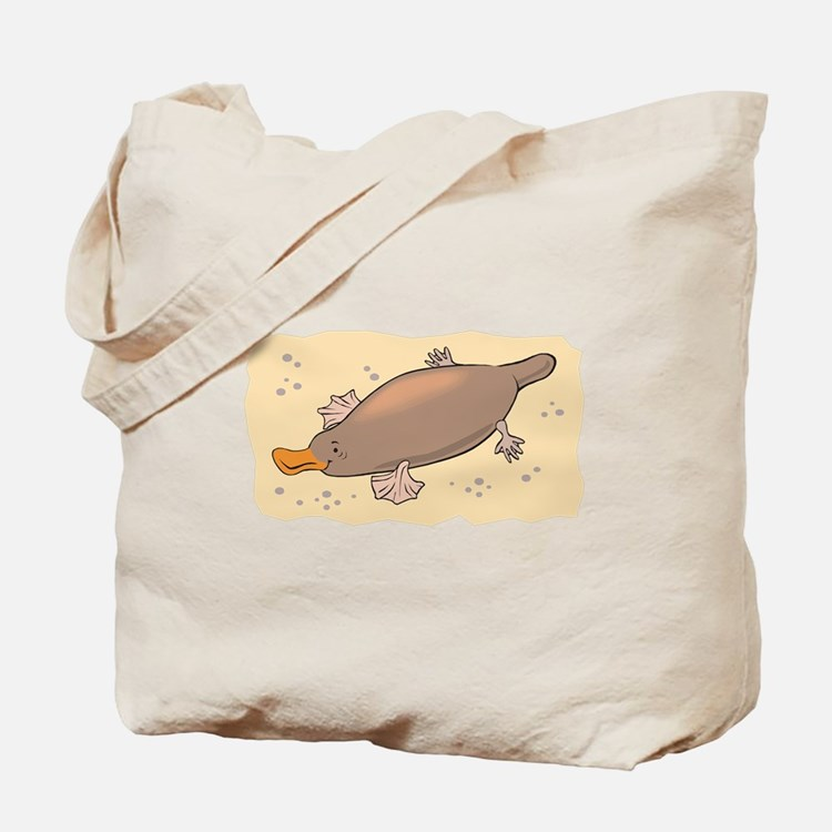 Cute Lil' Platypus Tote Bag