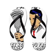 Lacrosse_Humor_FundaDouche_600 Flip Flops