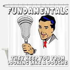 Lacrosse_Humor_FundaDouche_600 Shower Curtain