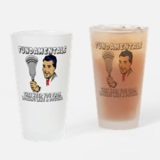 Lacrosse_Humor_FundaDouche_600 Drinking Glass