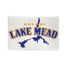 Lake Mead Rectangle Magnet