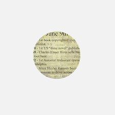 June 9th Mini Button