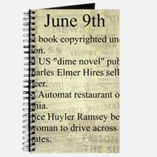 June 9th Journal