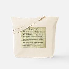 June 9th Tote Bag