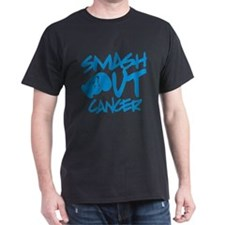 SMASH out Cancer - Electric Blue T-Shirt