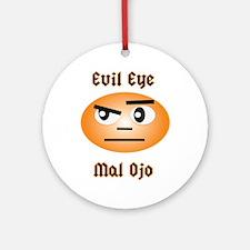 Evil Eye/Mal Ojo Ornament (Round)