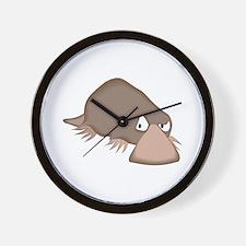 Crabby Little Platypus Wall Clock