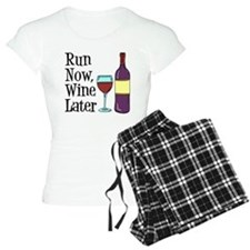 Run Now Wine Later Pajamas