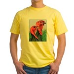 Blue Slate Pair Yellow T-Shirt