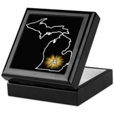 Michigan 33 Keepsake Box
