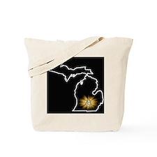 Michigan 33 Tote Bag