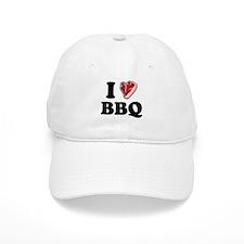 I [heart] BBQ Baseball Cap