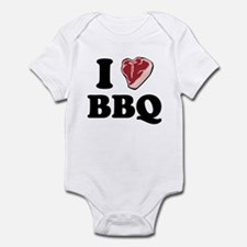 I [heart] BBQ Infant Bodysuit