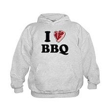 I [heart] BBQ Hoodie
