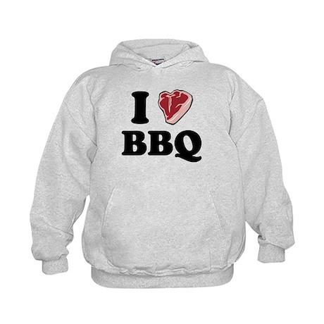 I [heart] BBQ Kids Hoodie
