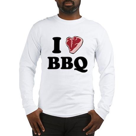 I [heart] BBQ Long Sleeve T-Shirt