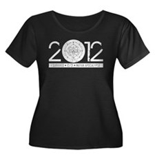 2012 Apocalypse Survivor Plus Size T-Shirt