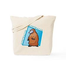 Australia Platypus Design Tote Bag