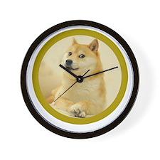 shibe-doge Wall Clock