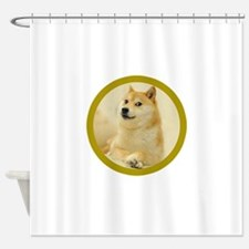 shibe-doge Shower Curtain