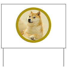 shibe-doge Yard Sign