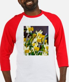 Yellow Daffodils Baseball Jersey