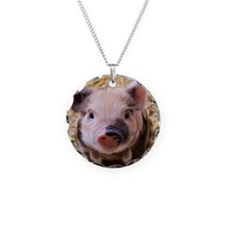 sweet little piglet 2 Necklace