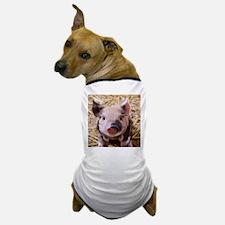 sweet little piglet 2 Dog T-Shirt