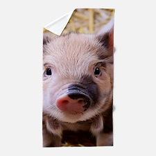 sweet little piglet 2 Beach Towel