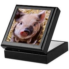 sweet little piglet 2 Keepsake Box