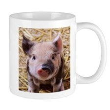 sweet little piglet 2 Mugs