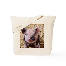 sweet little piglet 2 Tote Bag