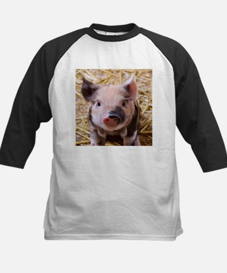 sweet little piglet 2 Baseball Jersey