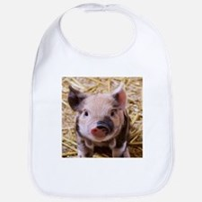 sweet little piglet 2 Bib