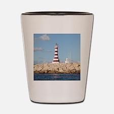 Caribbean Lighthouse Shot Glass