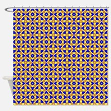 Mexican Tile Pattern Shower Curtain