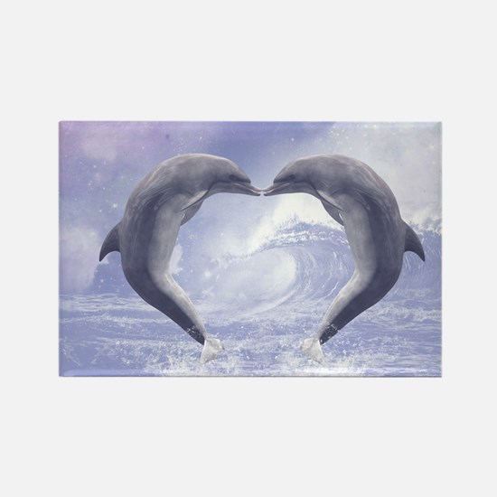 Dolphins Kisses Magnets