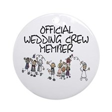 Wedding Crew Ornament (Round)
