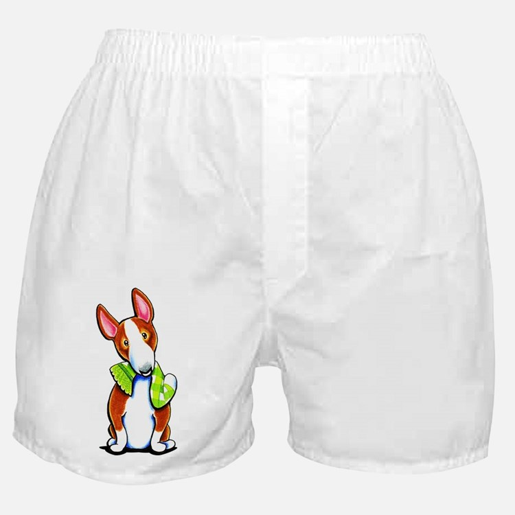 Red Bull Terrier Play Boxer Shorts