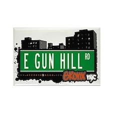 E Gun Hill Rd, Bronx, NYC Rectangle Magnet