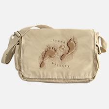 Tread Lightly Messenger Bag