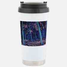 Magic forest purple blu Stainless Steel Travel Mug