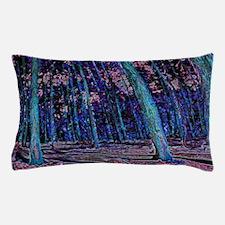 Magic forest purple blue Pillow Case