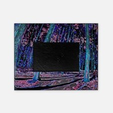 Magic forest purple 2 Picture Frame