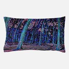 Magic forest purple 2 Pillow Case