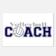 Volleyball Coach II Postcards (Package of 8)