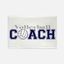 Volleyball Coach II Rectangle Magnet