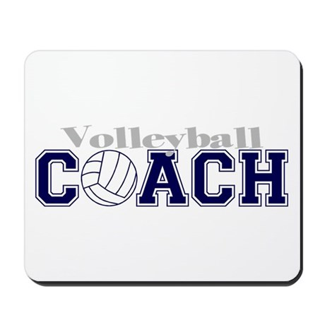 Volleyball Coach II Mousepad
